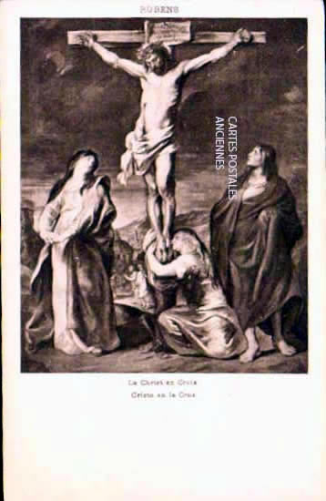 Cartes postales anciennes religion Jésus