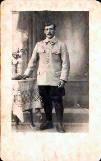 Old postcards military, army soldier Photos