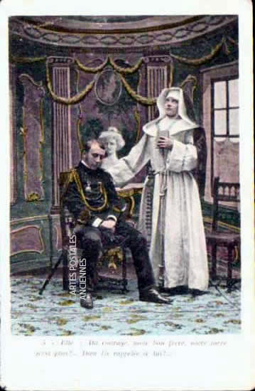 Cartes postales anciennes religion Religieuse
