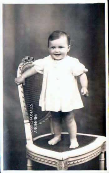 Cartes postales anciennes photos Bébé.
