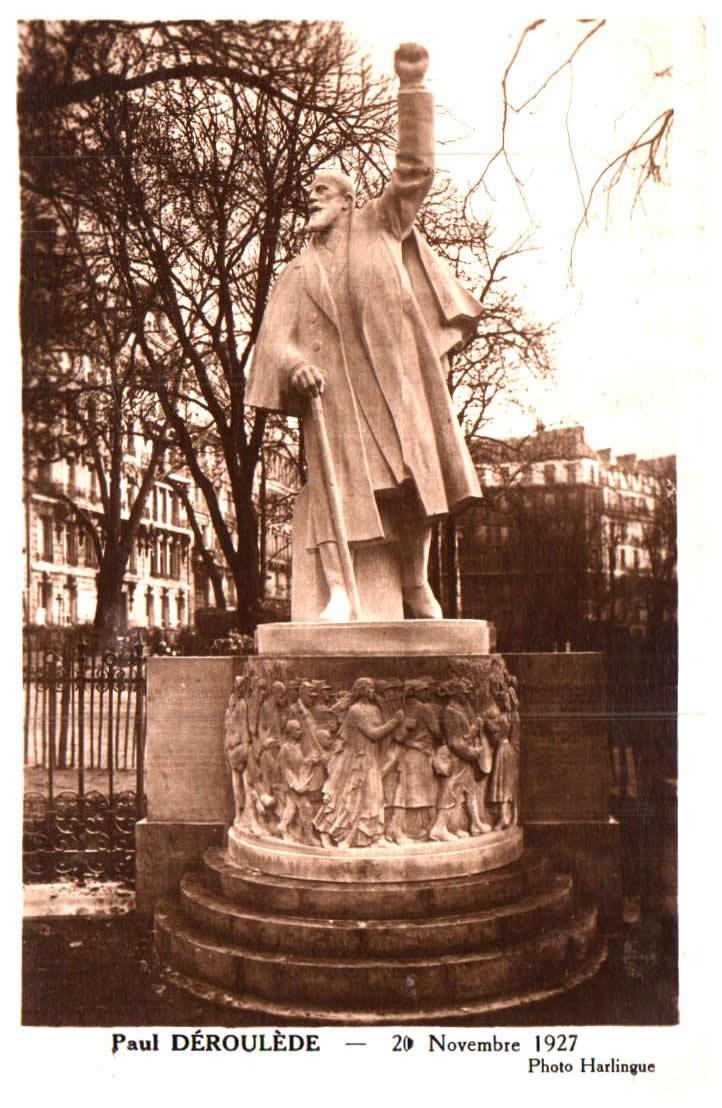 Old postcards monuments Monument divers