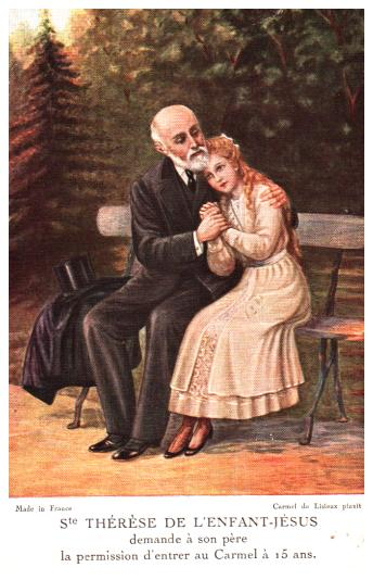 Old postcards fantasy personages La prière