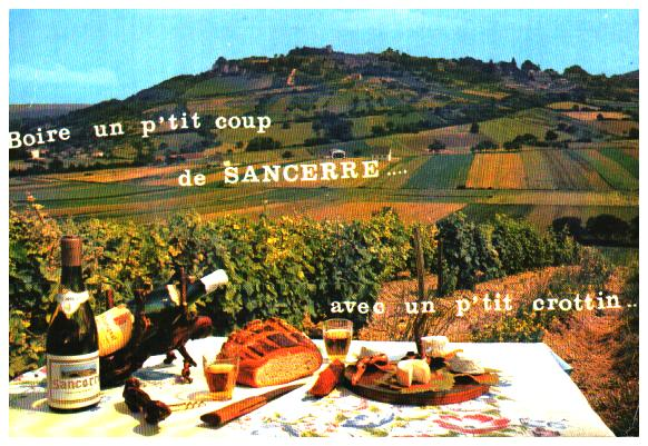 Cartes Postales Anciennes France  Sancerre