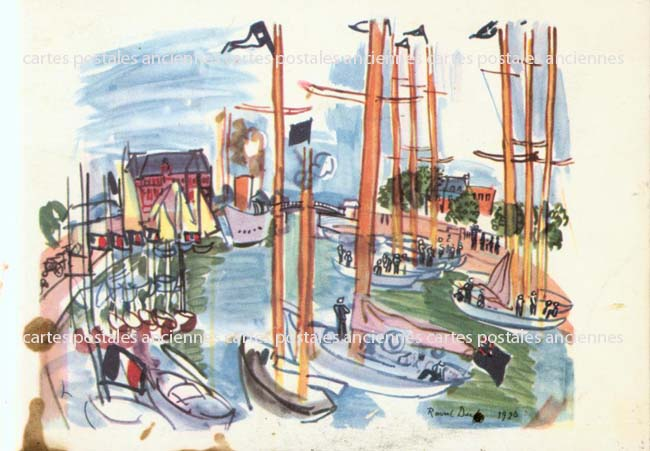 Cartes Postales Anciennes  Deauville