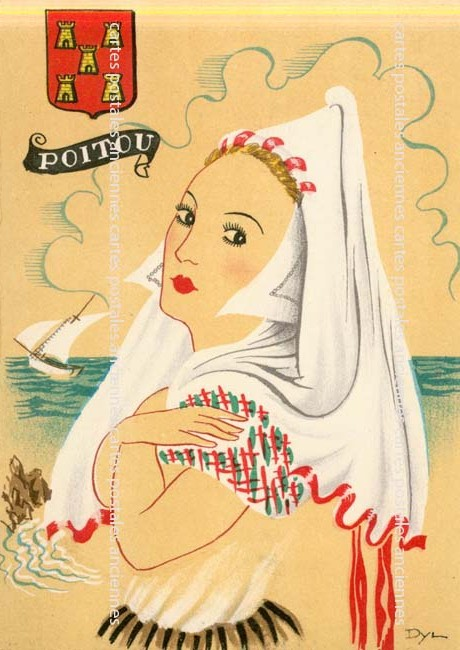 Cartes Postales Anciennes France Fantaisie Illustrateur Iilustrateur paysage