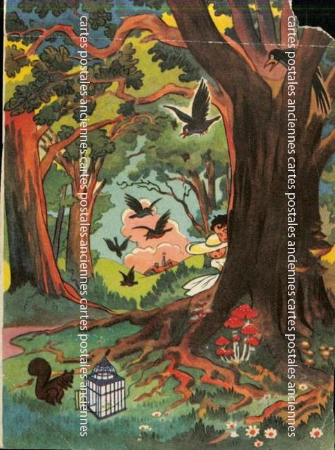 Cartes postales anciennes fantaisie Illustrateur Iilustrateur paysage