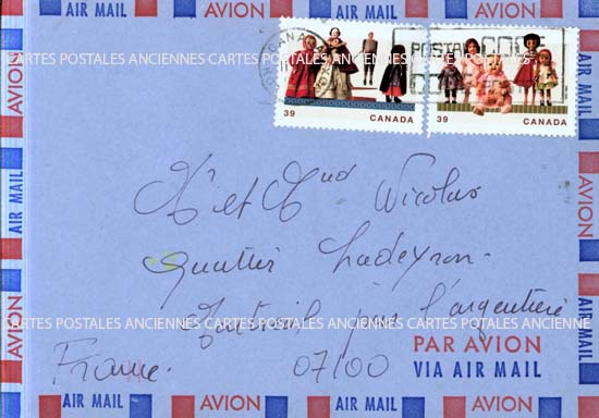 Autres collections  philatélie Stamps postals france Postage stamps collection English postage stamps Canada post stamps