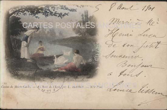 Cartes Postales Anciennes Monaco monte carlo