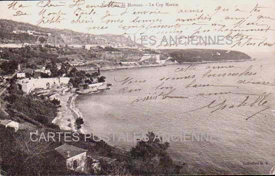 Cartes Postales Anciennes  Roquebrune Cap Martin