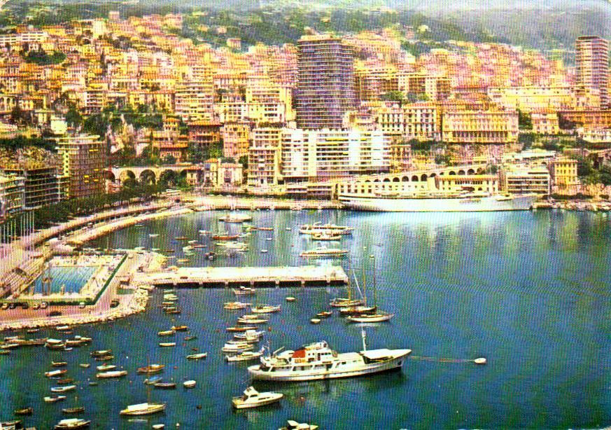 Cartes Postales Anciennes Monaco