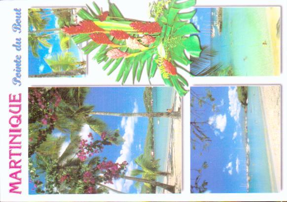 Martinique. Les trois Îlets