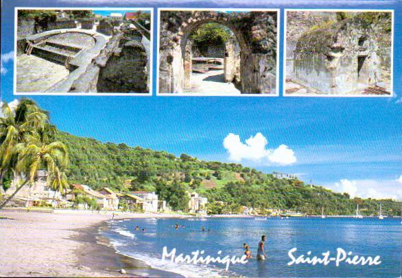 Cartes Postales Anciennes France Martinique. Saint pierre