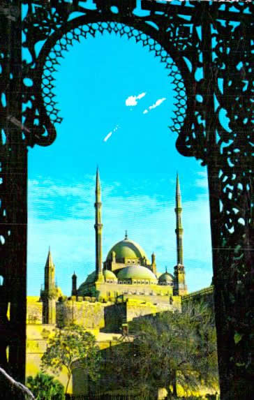 Old postcards world Egypt Le caire