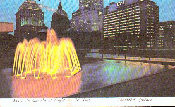Monde Canada Montreal