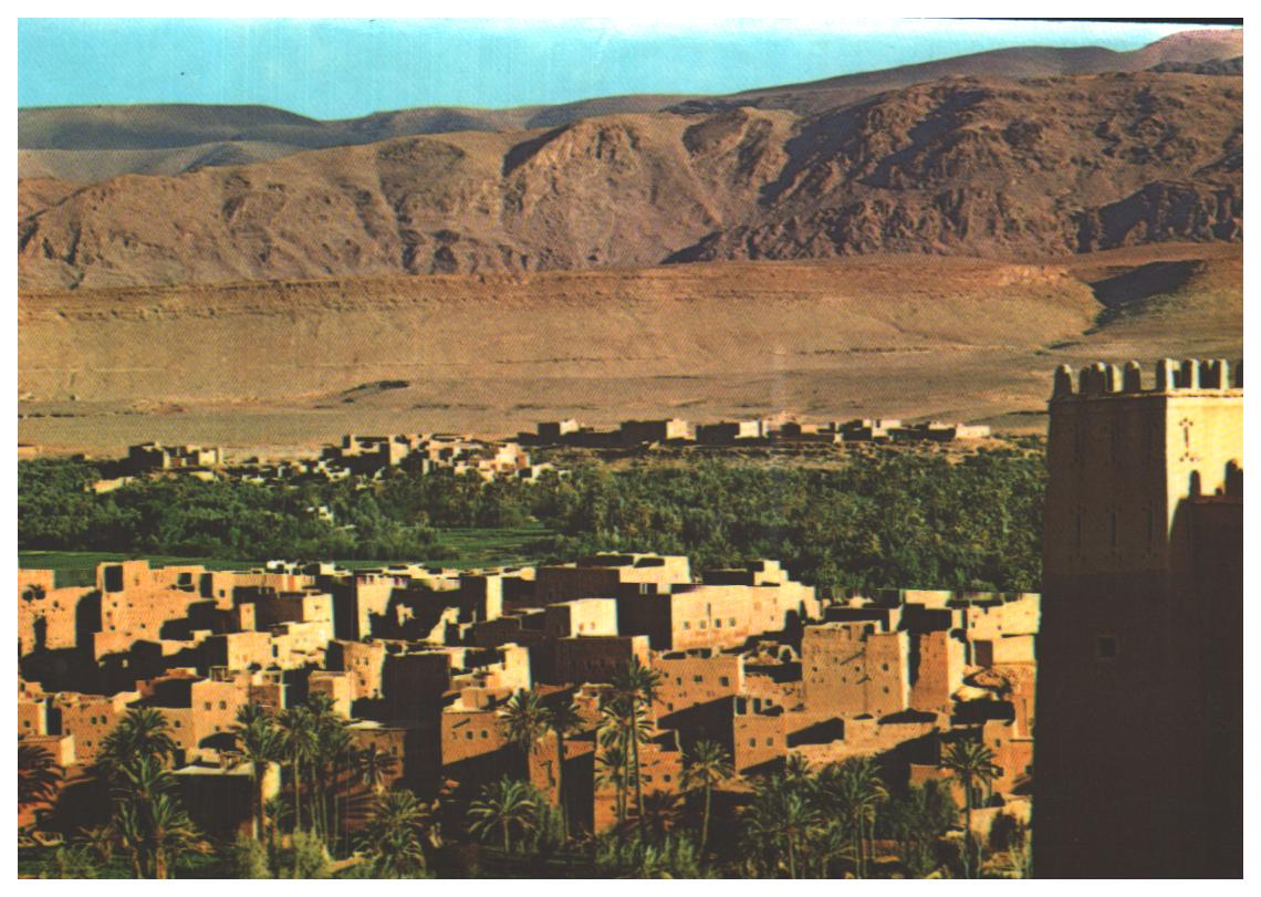 Cartes Postales Anciennes Monde Maroc Tinghir