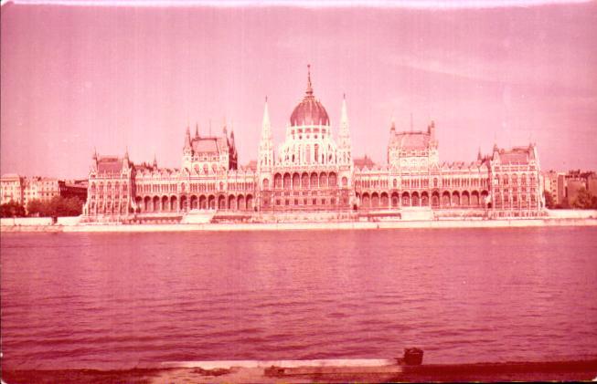 Old postcards hungary Budapest