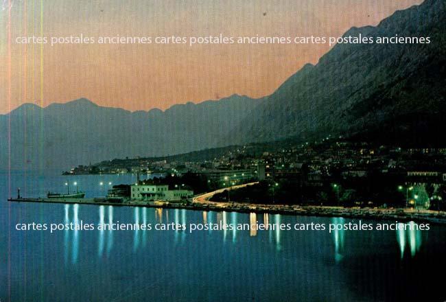 Old postcards yugoslav republic Kotor