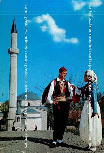 Old postcards bosnia and herzegovina