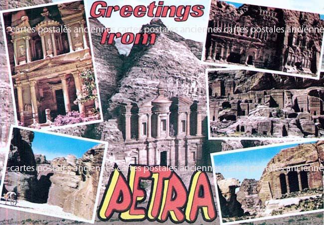 Cartes Postales Anciennes France Monde Jordanie