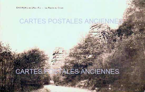 Cartes Postales Anciennes France Côte d'or  Saulieu