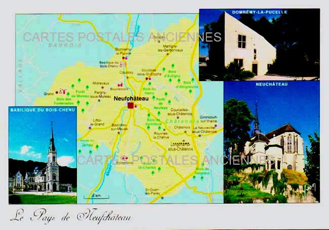 Cartes Postales Anciennes  Neufchateau