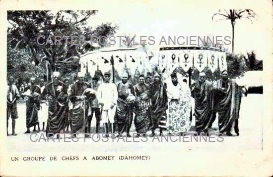 Monde Republic of dahomey Bénin Abomey