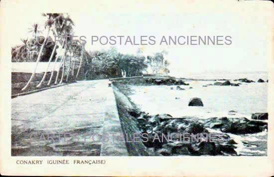 Cartes Postales Anciennes Monde Guinée