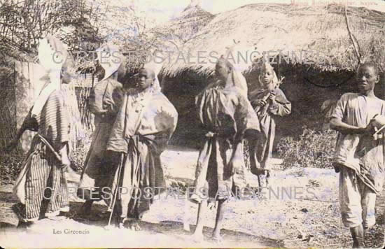 Cartes Postales Anciennes Monde République du sénégal Sénégal scènes et  types tradition