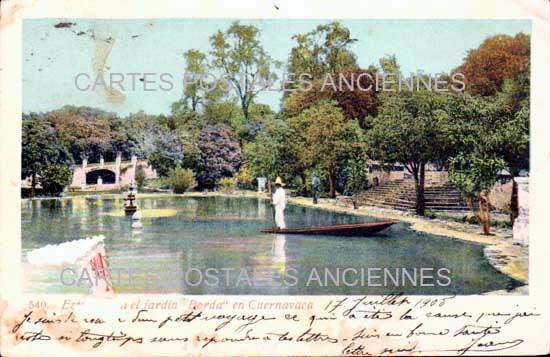 Cartes Postales Anciennes Monde Mexique Cuernavaca