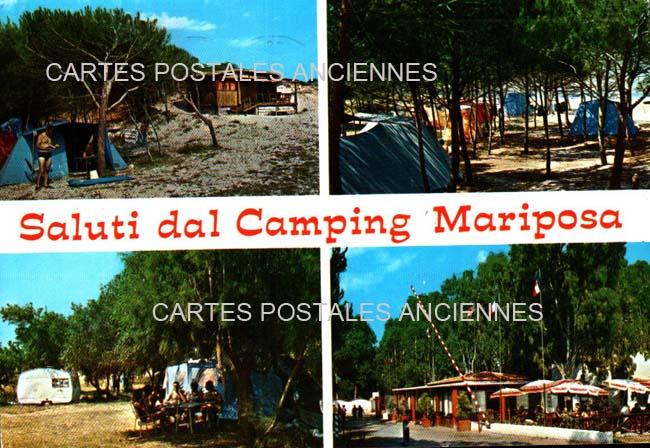 Union européenne Old postcards italy Alghero