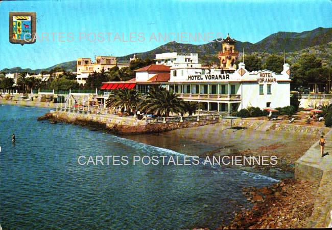 Old postcards spain Benicasim