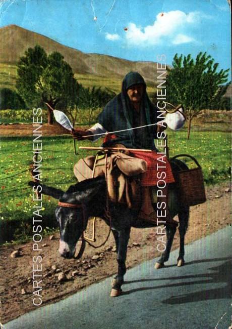 Cartes postales anciennes tradition Grèce