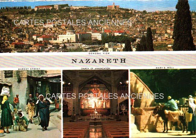 Cartes Postales Anciennes France Monde Israël
