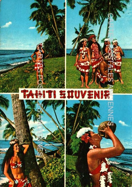 Cartes Postales Anciennes Tahiti Papeete