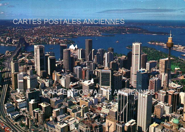 Monde Australia postal stamps