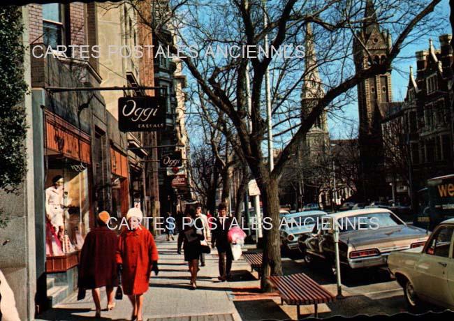 Old postcards world Australia Melbourne