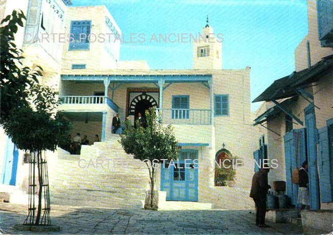 Cartes Postales Anciennes Monde Tunisie Sidi bou saïd
