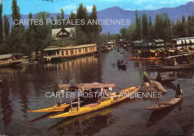 Cartes Postales Anciennes France Monde Inde Srinagar