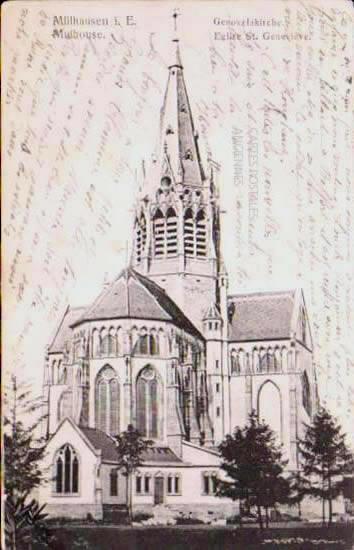 Cartes Postales Anciennes France Haut rhin  Mulhouse