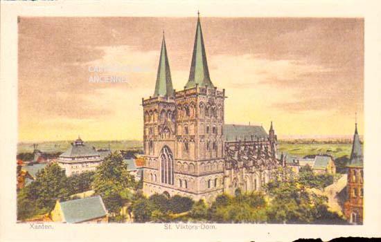 Old postcards germany Birten