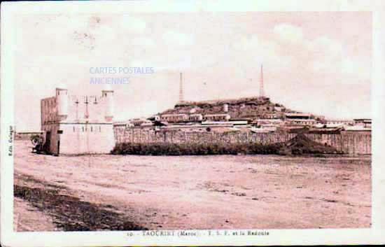 Cartes Postales Anciennes Monde Maroc Taourirt