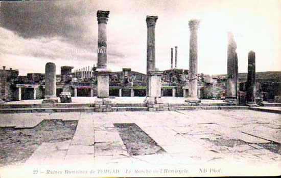 Cartes Postales Anciennes France Monde Algérie Timgad