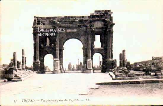 Monde Algérie Timgad
