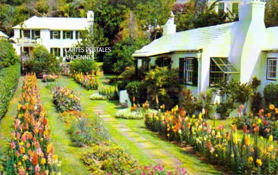Cartes Postales Anciennes Monde Bermudes