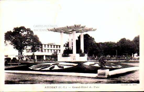 Cartes Postales Anciennes Monde République de cote d ivoire Abidjan