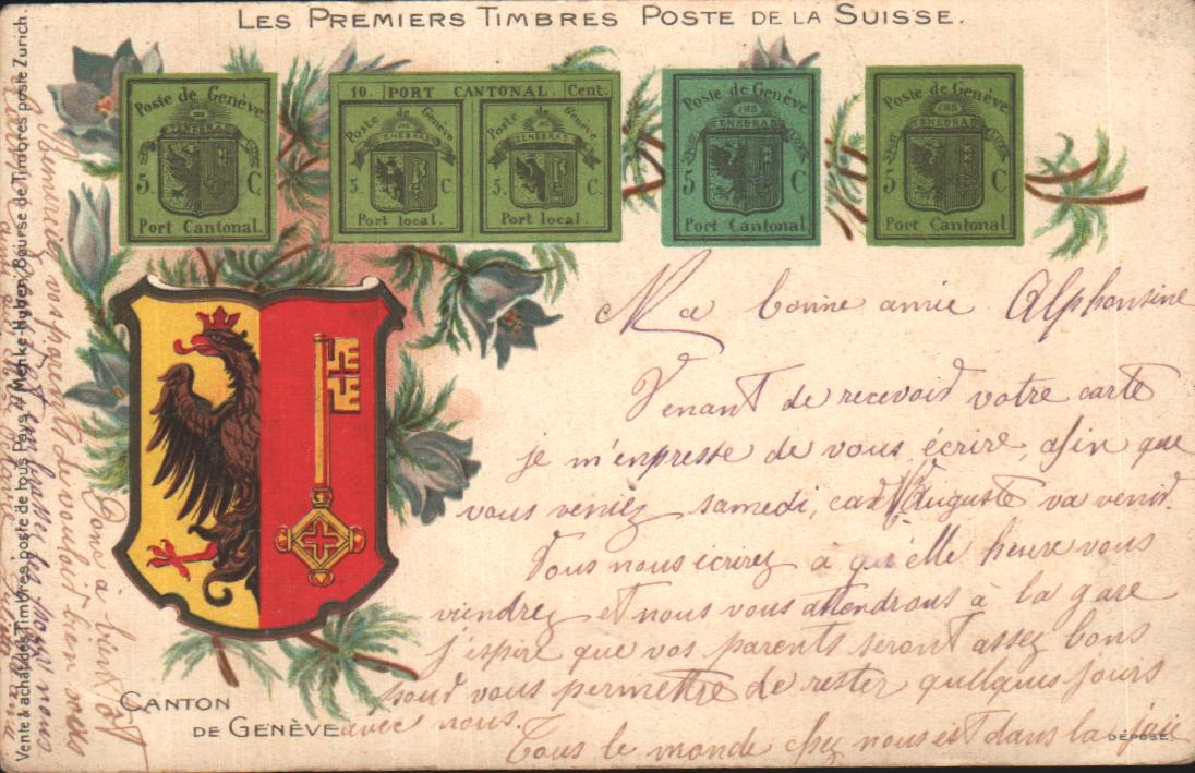 Cartes Postales Anciennes  Delle
