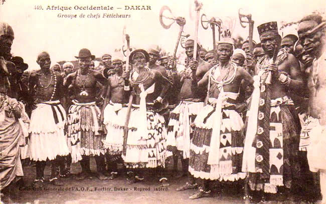 Cartes Postales Anciennes Monde République du sénégal Dakar