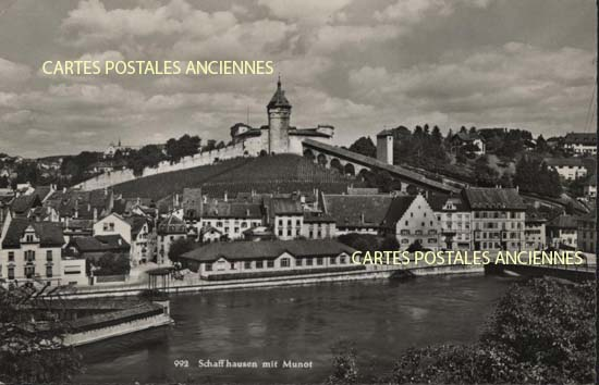 Cartes Postales Anciennes France Suisse Schaffhausen