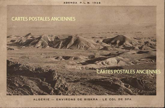 Old postcards world Algeria Biskra