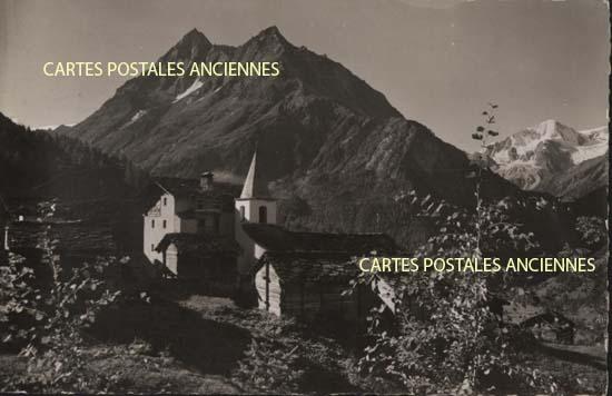 Old postcards switzerland Arolla